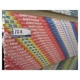 FEUILLE DE GYPSE SHEETROCK  4