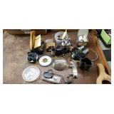 Lot Of Miscellaneous Microscope Parts