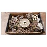 Lot Of Assorted Brass Gears