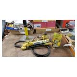 Enerpac Hydrolic Press Cylinder And Pump