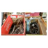 Lot Of 2 Boxes Of Assorted Wires