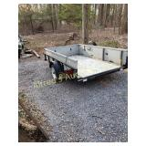 Hecht Utility Trailer 5x8 With Registration