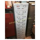Steelcase metal cabinet