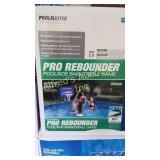 Poolmaster Pro rebounder poolside basketball game