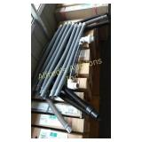 Group of hoses. (7) 1 1/4 in x 3