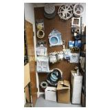 Pegboard display with all accessories 3 box lots