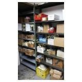 Double shelf lot. heater controls, burner parts,