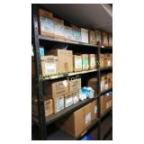 Approximately 38 boxes of PVC fittings and valves