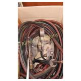 Victor cutting torch with brazing tip, hoses,