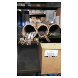 Two Tubes Of Brazing Rod.  Partial  Lots. One Is