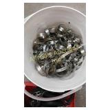 Stainless Steel Hose Clamps Used.