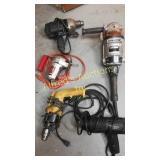 Corded Electric Tool Lot. Black & Decker