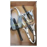 Set of 3 gear pullers