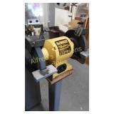 DeWalt 8in bench grinder. The base stays in the