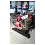 Homelite 3-inch trash pump powered by a Briggs &