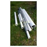 Various size PVC pipe