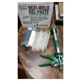 Reggie weld Gel-paste construction epoxy