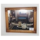 Gilded Frame Wall Mirror