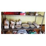 Tienshon Stoneware Set -- service for 4