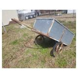 Push/Pull Cart with Tin sides