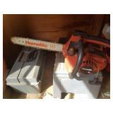 """Homelite XL Chain Saw, 14"""" Bar"""