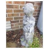 Statue -- girl