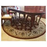 """Area Rug In Kitchen - Round Approx 7 ft. 10"""" in"""