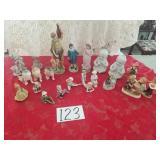 "Assorted Figurines -- including ""Blue Boy"""