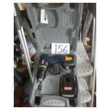 Ryobi 9.6 V Cordless Drill - battery, charger