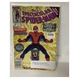 Marvel Spiderman comic book… Spiderman gains