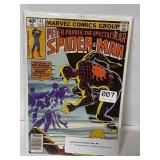 Marvel Spiderman comic book… First appearance of