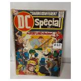 Old DC special comic book please see damage in