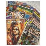 30 miscellaneous comic books