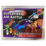Superhero air battle unopened building blocks set