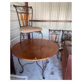 Table and four chairs-42