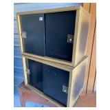 Vintage retro record album cabinets... -42