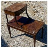 Antique end table -41