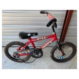"16"" little bike -35  chain needs put on, tires"
