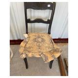 antique single chair -25
