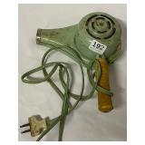 vintage hair dryer for decor or make a lamp for