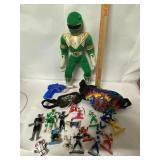 Power Rangers lot