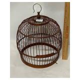 bottomless wood bird cage