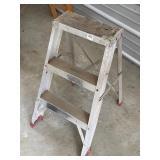alum step ladder  #52