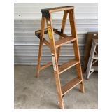 wood step ladder  #52