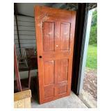 old wooden door  #52