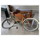 Huffy retro style beach cruiser bicycle- #52 tires
