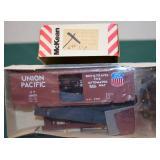 UP 126003 40ft Box Car Mckean HO Kit.