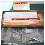 Red 72 Combine Caboose Silver Streak HO kit