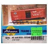 ATSF Santa Fe 140548 Box Car Athearn HO