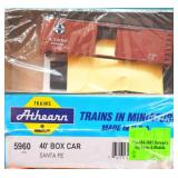 ATSF Santa Fe 138082 Box Car Athearn HO